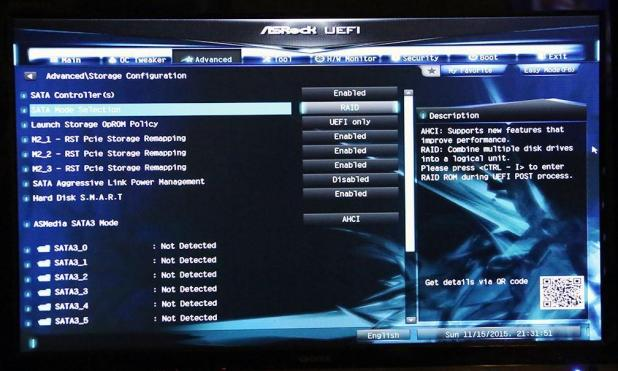 ASRock Z170 Extreme7 UEFI M2 Boot Slide 1
