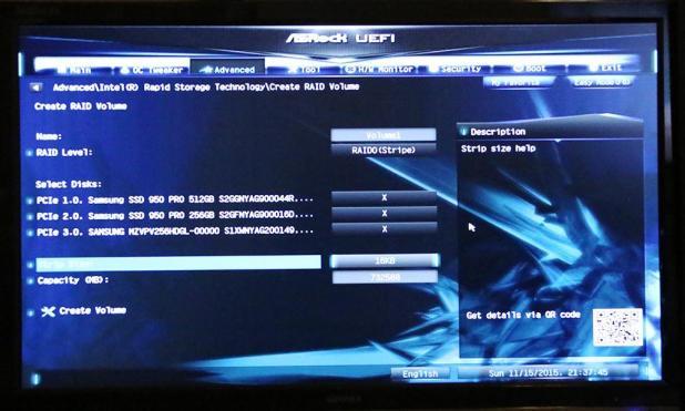 ASRock Z170 Extreme7 UEFI M2 Boot Slide 4