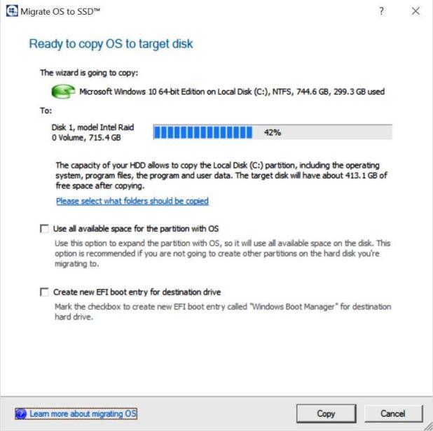 NVMe RAID x3 Bootable Partition