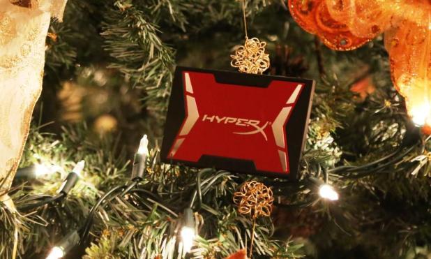 Hyper X Savage SSD Xmas Tree