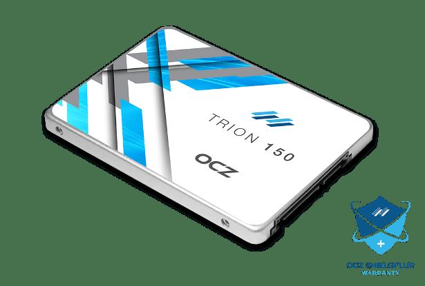 OCZ Trion 150 angled