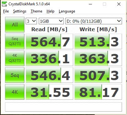 PNY CS1311 SSD 120GB CDM