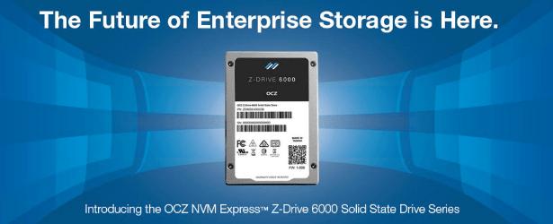 OCZ Z-drive 6000 banner