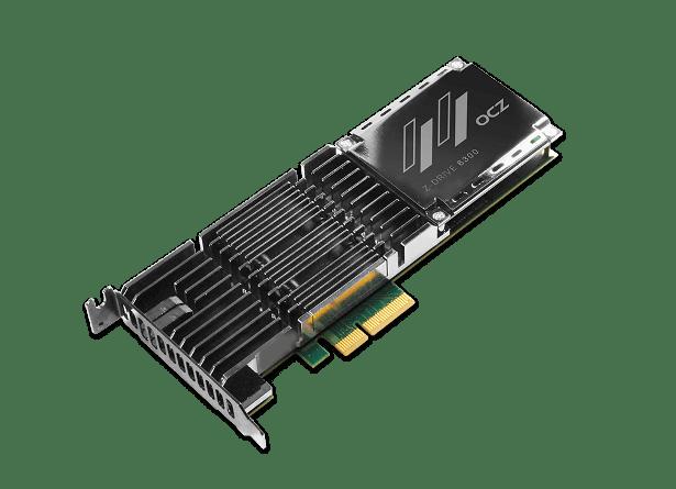 OCZ z-drive 6300 angled