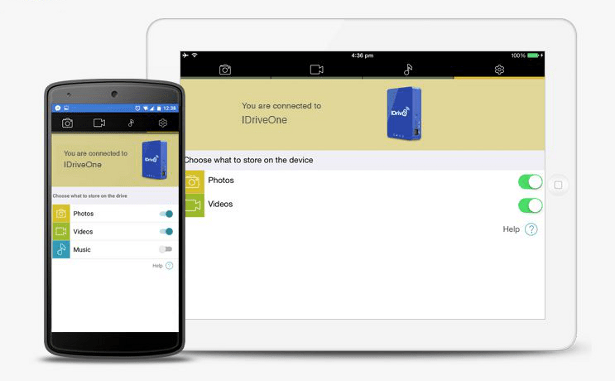 IDrive One app