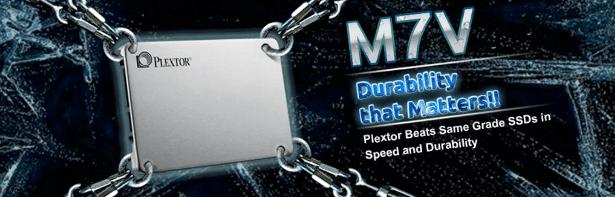Plextor M7V durability banner
