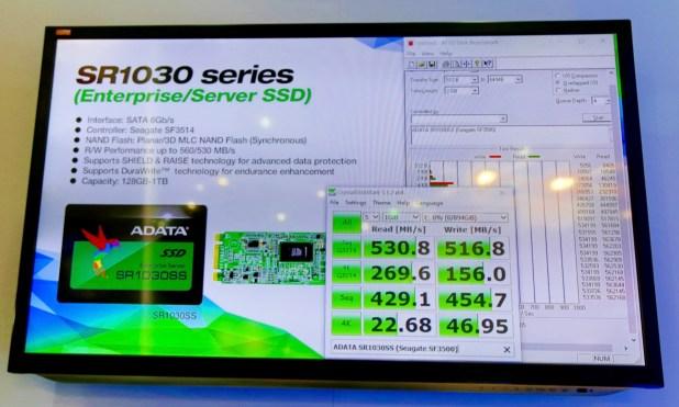 ADATA SR1030 Performance