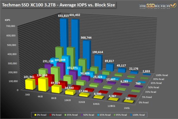Techman SSD XC100 3.2TB SNIA BAR