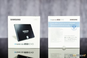 Samsung 850 EVO 4TB Packaging
