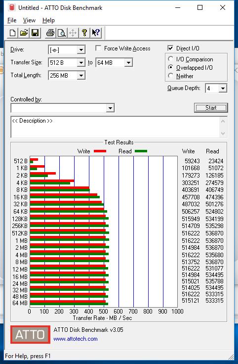 1TB Crucial MX300 atto