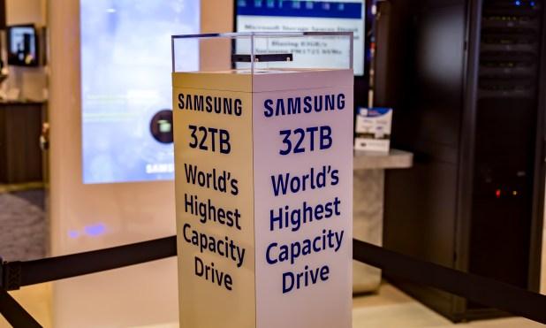 Samsung 32TB SAS SSD