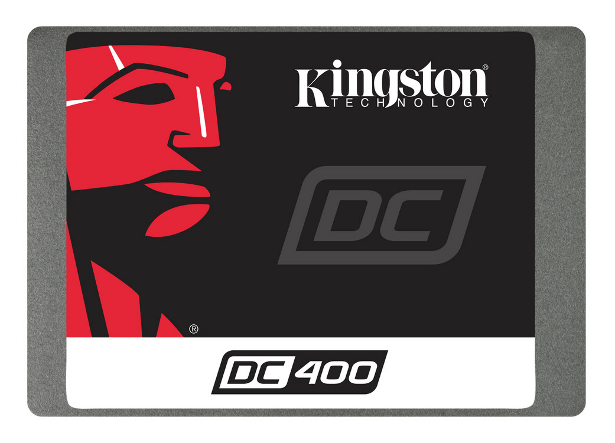 Kingston DC400 SSD generic front view