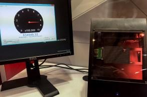 Liqid Booth FMS 2016 U.2 NVMe SSD IOPS