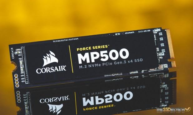 Corsair MP500 480GB SSD Main