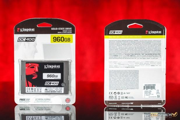 Kingston DC400 960GB SSD Package