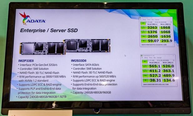 ADATA IM2P33 SSD Family Performance