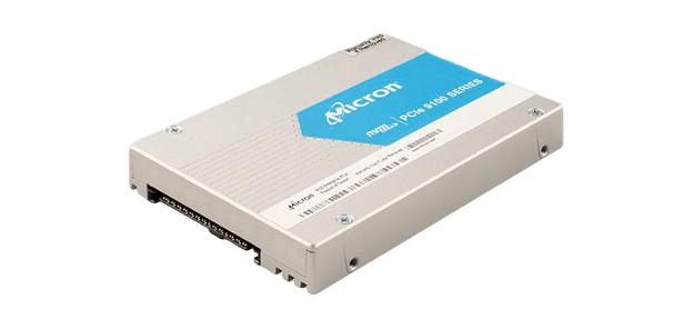 Micron 9100 NVMe SSD 2point5 inch form factor