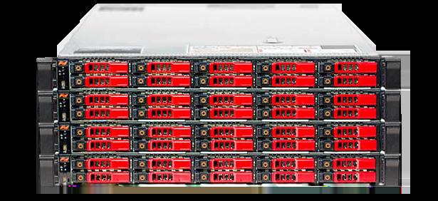 NetApp SolidFire 4u rack