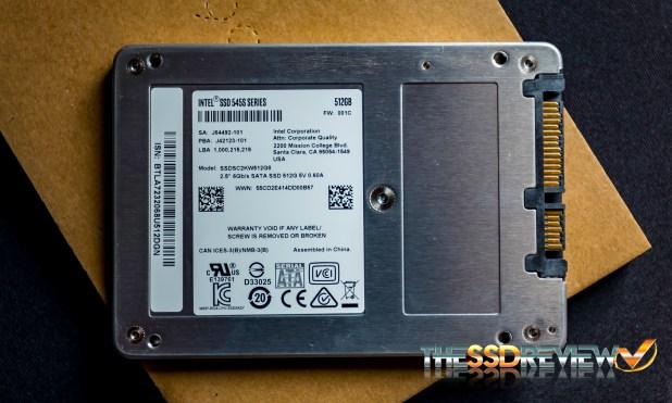 Intel SSD5 SATA 3 SSD 545s