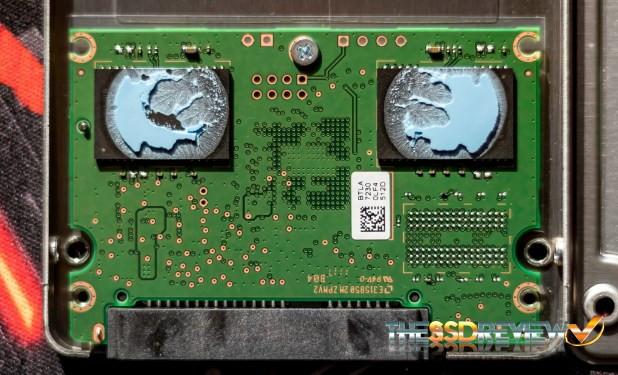 Intel SSD5 545s SATA 3 SSD PCB