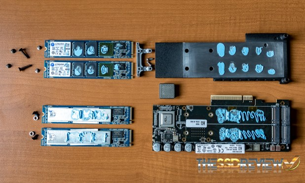 Kingston DCP1000 NVMe SSD Disassembled