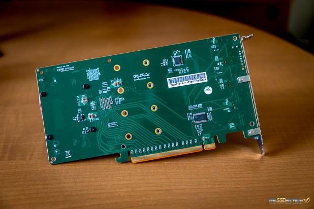 HighPoint SSD7101A-1 NVMe SSD RAID Controller