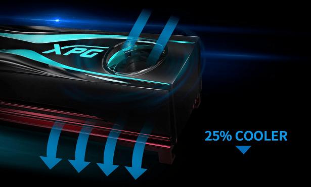 ADATA XPG STORM 25percent cooler