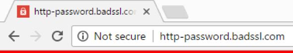 HTTPS, Not Secure, SSL