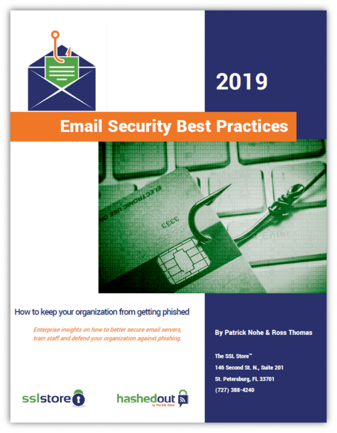 Email Security Best Practices - 2019 Edition