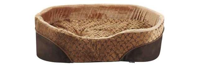 Bunty Mocha Dog Bed