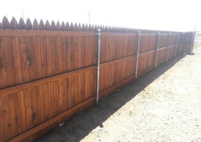 Kansas City Fence Staining