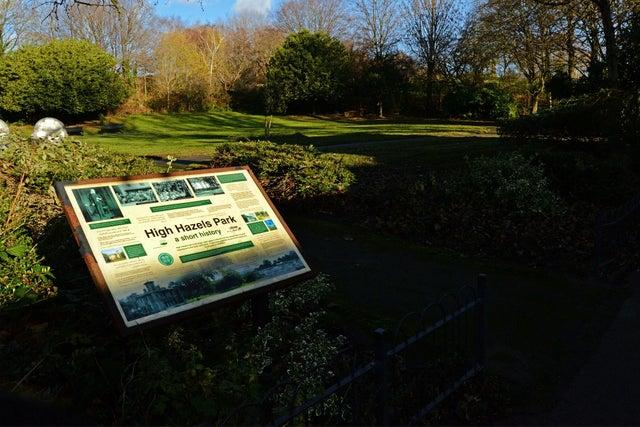 The bowling green in High Hazels Park, Darnall could be turned into a dog training centre