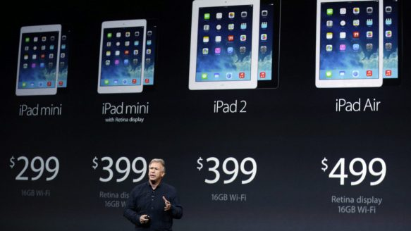 Apple may unveil new tablet next week which could feature Apple pay