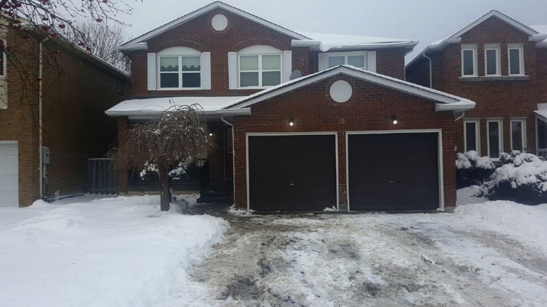 This dated Vaughan home sold for $400,000 over the $699,900 list price this week.