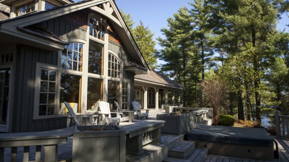 Wealthy buyers are looking to snap up luxury real estate such as Tokata, a home located on a nine-acre peninsula in Parry Sound, Ont. The property is listed for $4,750,000.
