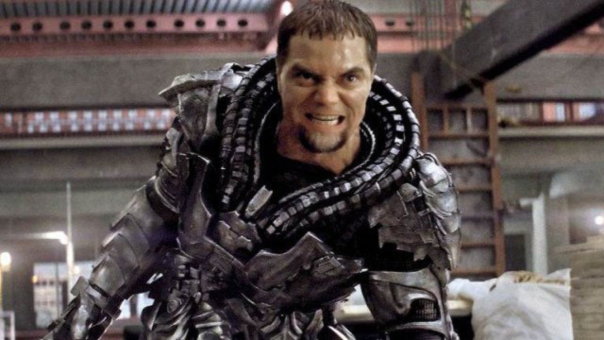 man of steel general zod Michael shannon