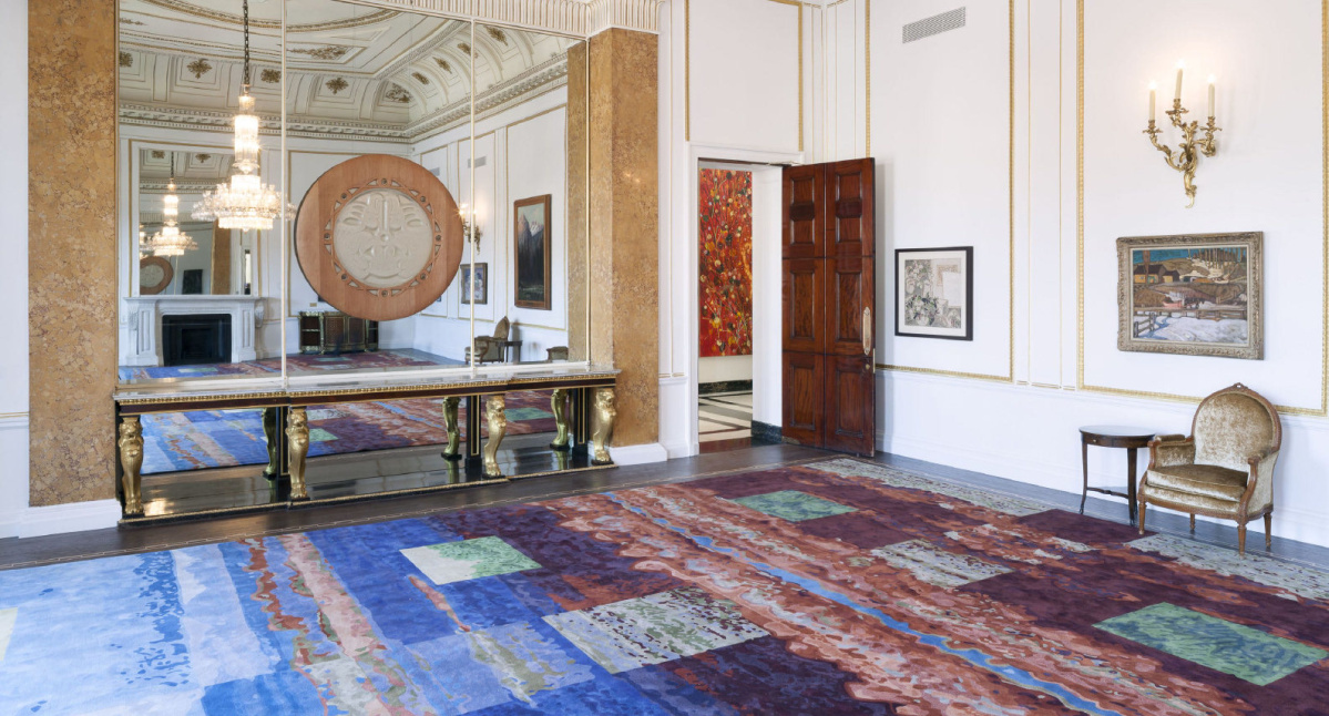 Toronto Firm Transforms Canadian Paintings Into Carpets