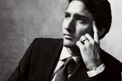 Justin Trudeau photographed in Ottawa.