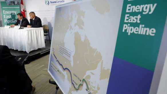 The backers of the Energy East project have always believed that if only one pipeline was going to see the light of day in Canada it would be the TransCanada one, writes Chantal Hébert.