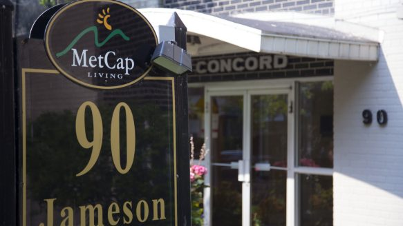 Wesley Harkness was evicted from a prior apartment he rented at 90 Jameson. The previous landlord, MetCap Living, claims he did not give them proper notice after they evicted him.