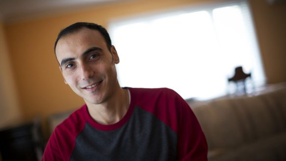 Mohammed Barakat appreciates the freedom of expression he's found in Canada.