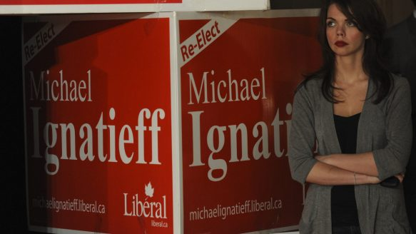 Election night in Toronto, May 2, 2011