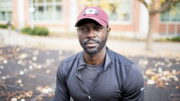 """Mario Rigby, 29, a personal and group fitness trainer in Toronto, recently decided to give up the lease on his Queen St. W. condo for his dream """"odyssey."""" He will walk through 12 African nations, including some, such as Sudan, facing strife."""