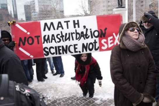 Protest movements rarely materialize out of thin air. They're often driven by people with an agenda.Leading the charge against sex-ed is an amalgam of anti-abortion and anti-gay groups that have demonized and distorted the research, writes Martin Regg Cohn.