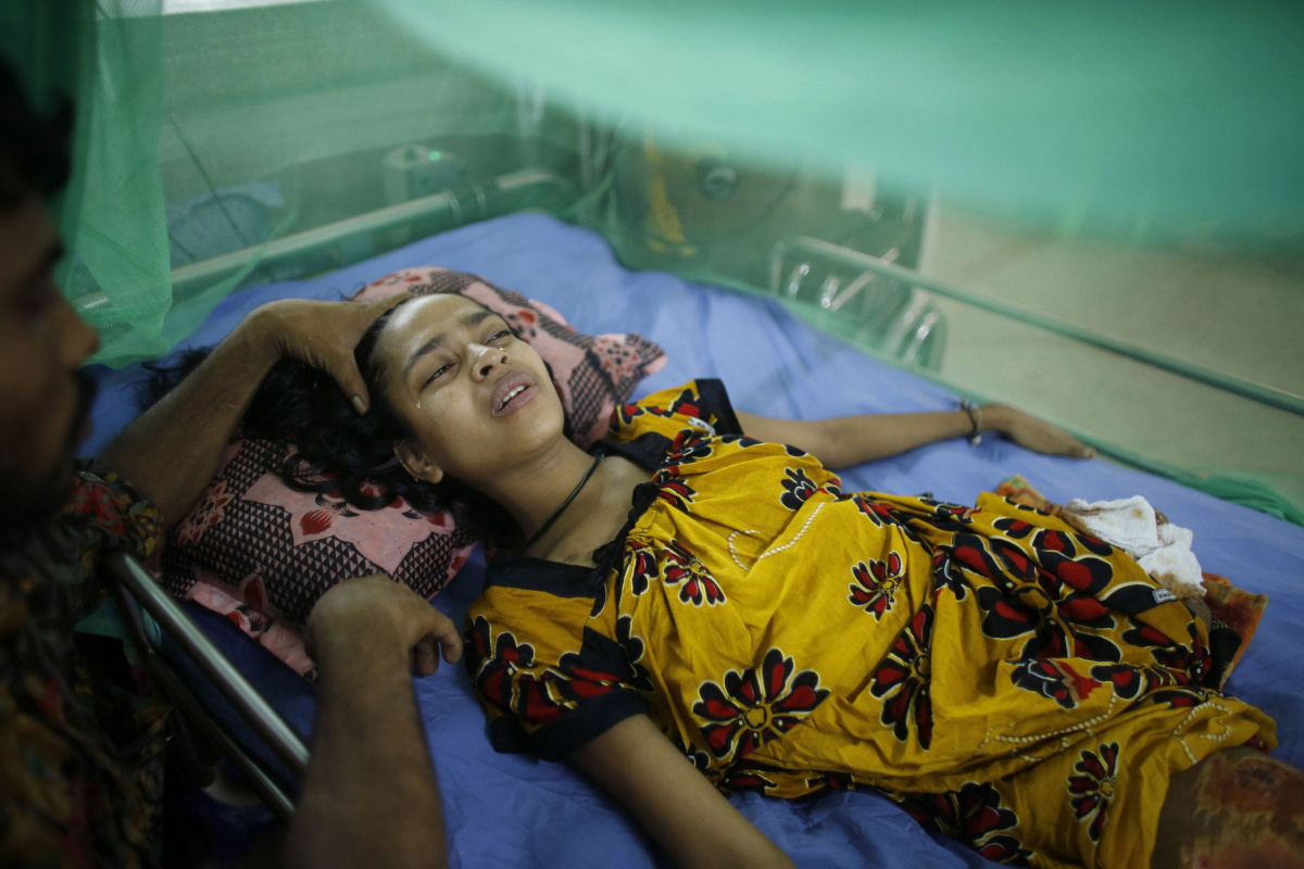 Bangladesh Factory Collapse Victims Get Help To Cope With