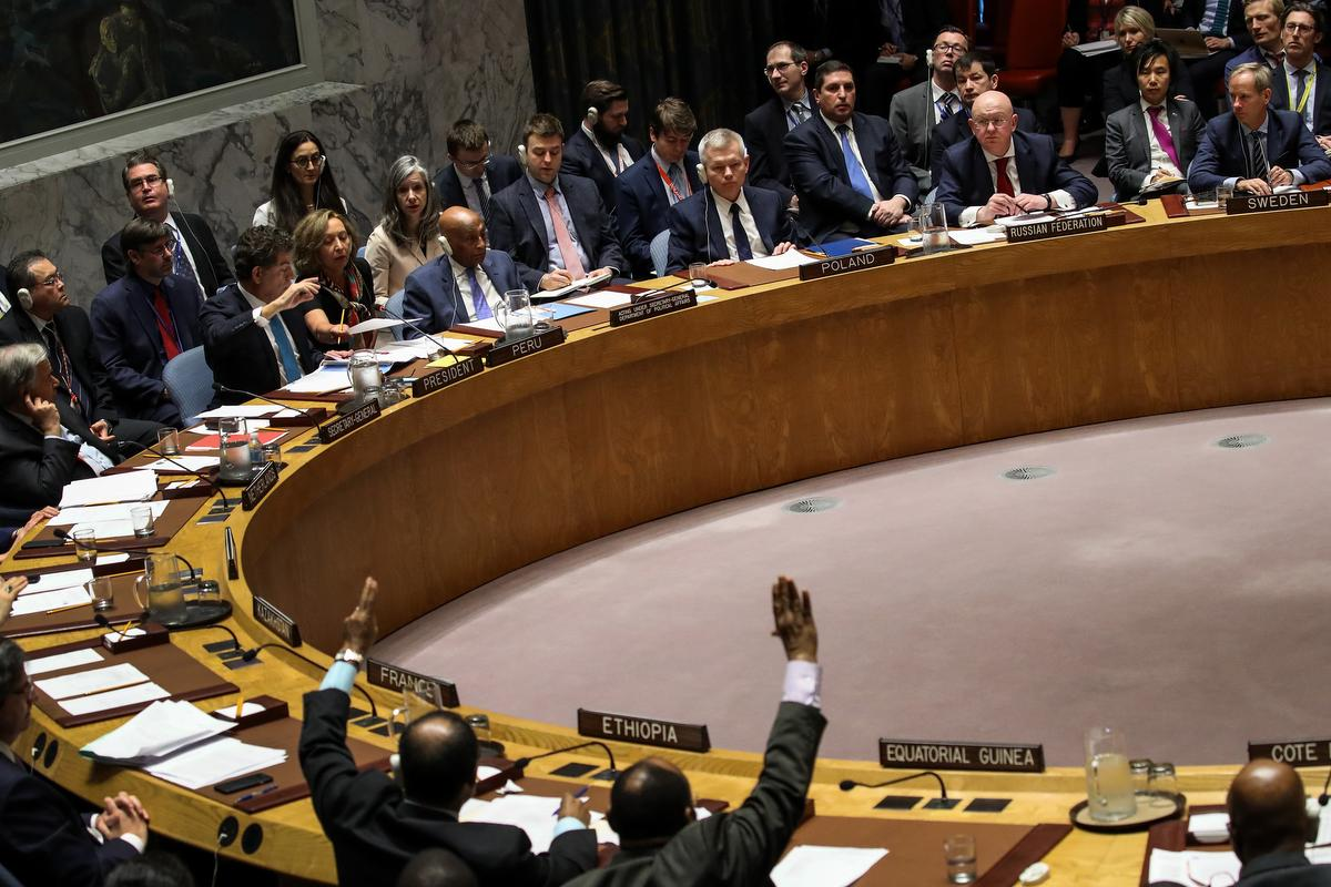 Un Security Council Rejects Russia S Call To Condemn U S