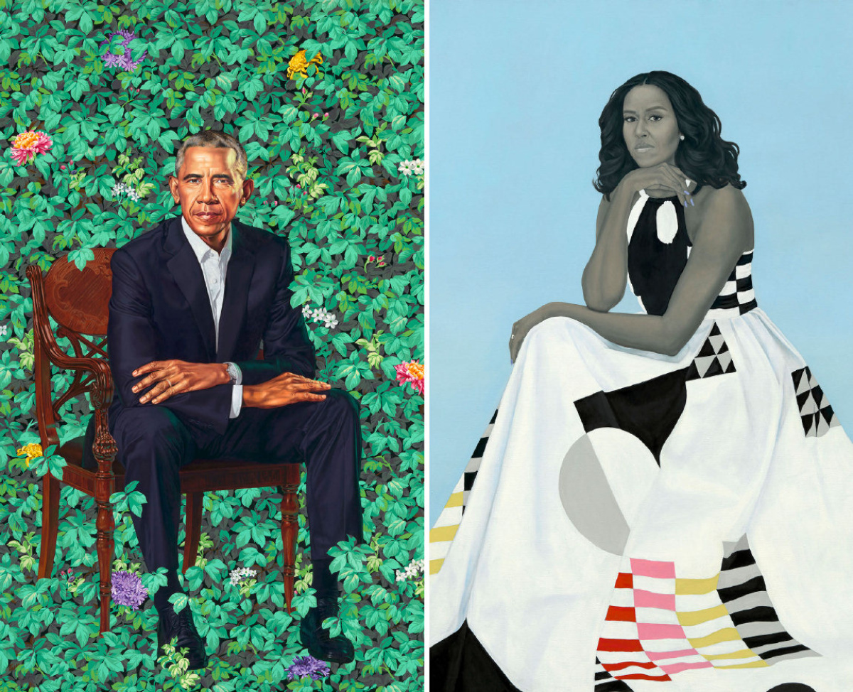 The Obamas Portraits Are Not What You D Expect That S