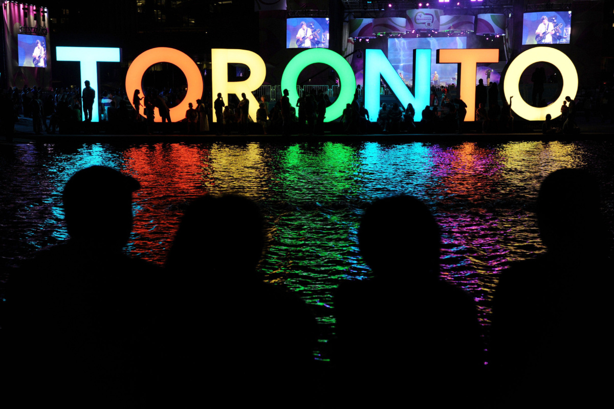 Iconic TORONTO Sign Has Become A New Symbol Editorial