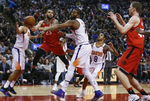 Despite a sluggish start to the fourth quarter, when an 11-2 Phoenix run made it a game again, the Raptors had enough to put away an opponent playing its sixth consecutive road game and second on consecutive nights.