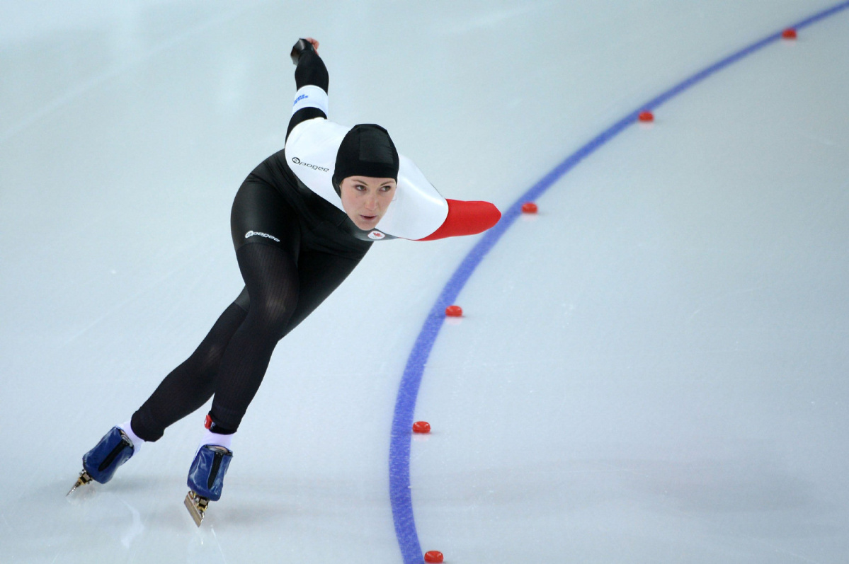 Speed Skater Anastasia Bucsis Proud Of Olympic Performance